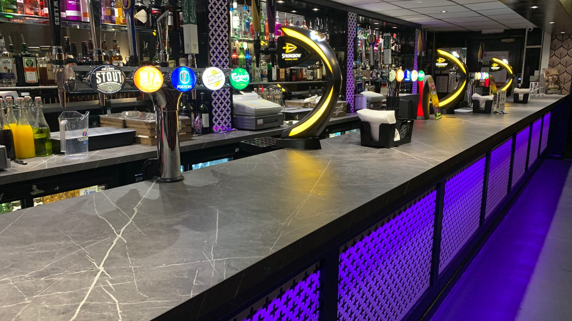New bar at The Monaco Hindley