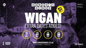 Bongos Biongo April and May dates Wigan