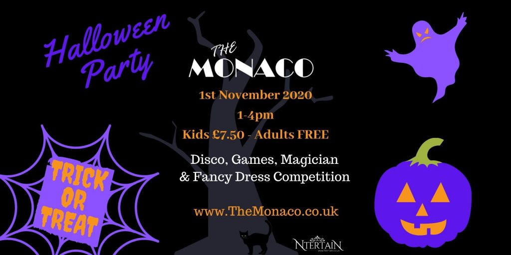 The Monaco Halloween Party 2020