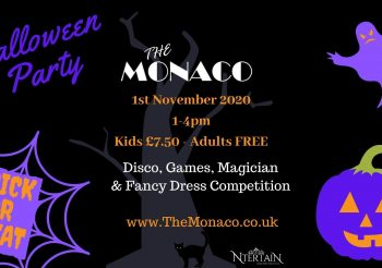The Monaco Halloween Party 1st November 2020