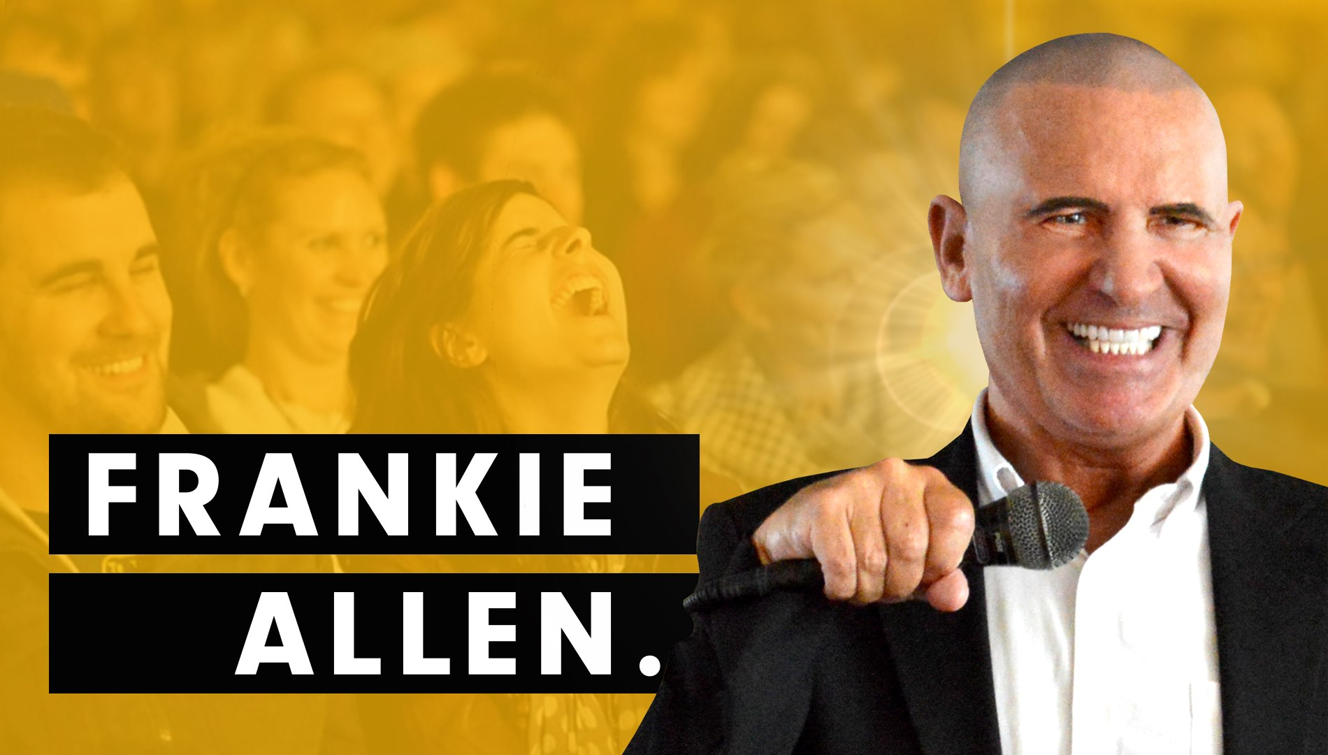 Comedian Frankie Allen