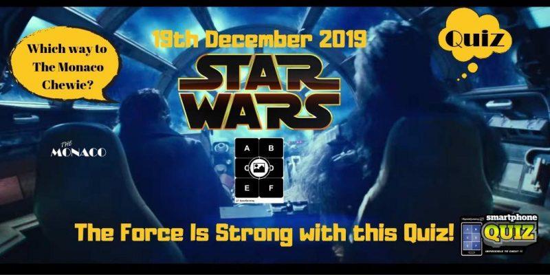 Star Wars Themed Quiz Night