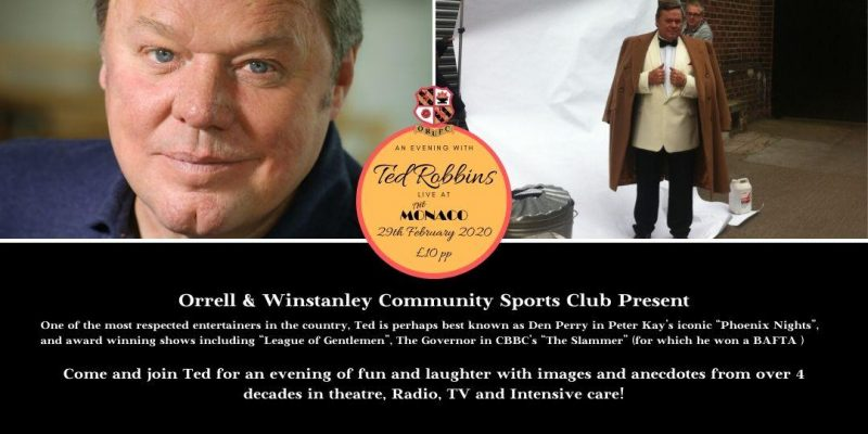 An Evening with Ted Robbins at The Monaco