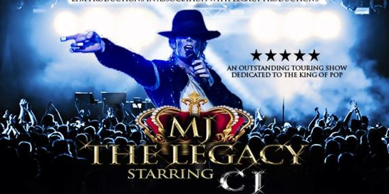 'MJ THE LEGACY' starring CJ. Tribute to Michael Jackson with Live band